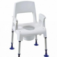 Cadeira banho sanitária 3 em 1 Pico
