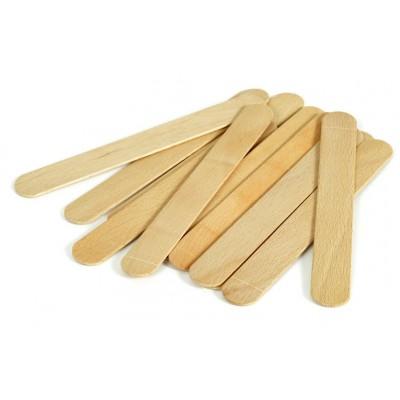 Espátulas madeira abaixa lingua
