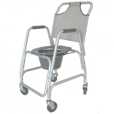 Cadeira banho e sanitária com rodas