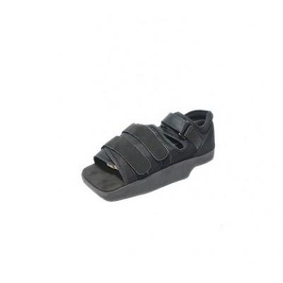 Sapato pós operatório salto invertido