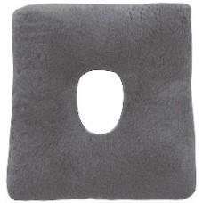 Almofada quadrada com buraco