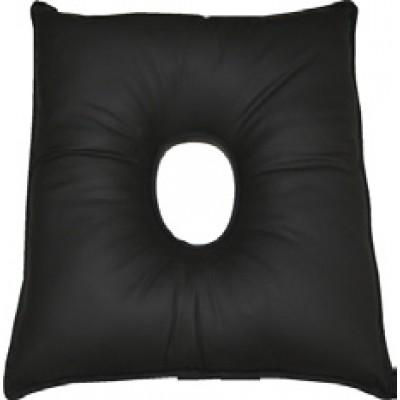 Almofada quadrada impermeável  com buraco