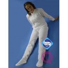 Pijama adulto manga e perna comprida