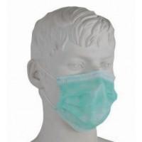 Máscara 3 dobras com elásticos pack 10