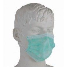 Máscaras 3 dobras com elásticos