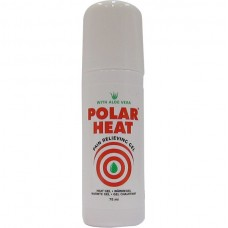 Gel quente Polar Heat Roll on