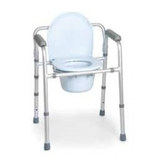 Cadeira banho sanitária Aluminio